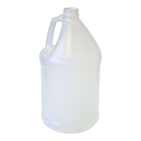 BOTTLE GALLON ROUND HDPE 38 MM NATURAL