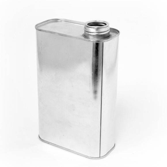 Quart  f style tin can