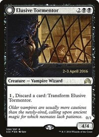 Elusive Tormentor [Shadows over Innistrad Promos] | Jack's on Queen