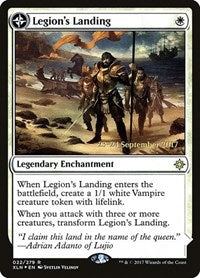 Legion's Landing [Ixalan Promos] | Jack's on Queen