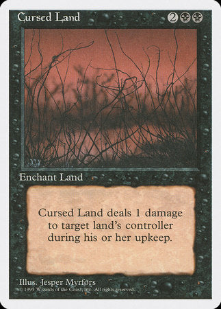 Cursed Land [Fourth Edition] | Jack's on Queen