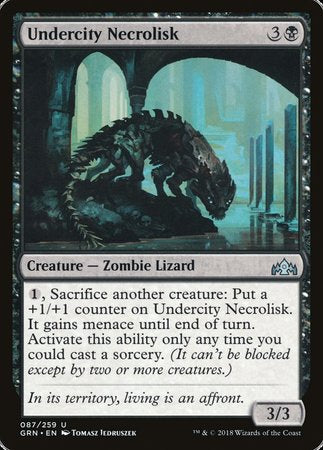 Undercity Necrolisk [Guilds of Ravnica] | Jack's on Queen