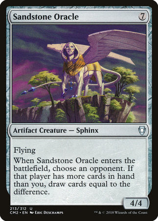 Sandstone Oracle [Commander Anthology Volume II] | Jack's on Queen