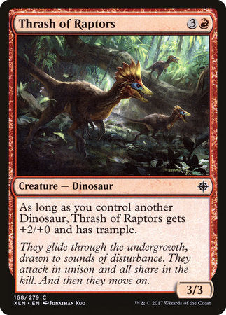Thrash of Raptors [Ixalan] | Jack's on Queen