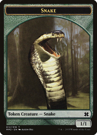 Snake Token [Modern Masters 2015 Tokens] | Jack's on Queen
