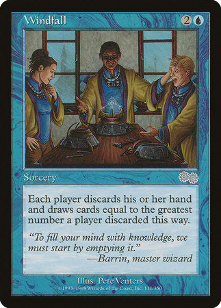 Windfall [Urza's Saga] | Jack's on Queen