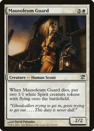 Mausoleum Guard [Innistrad] | Jack's on Queen