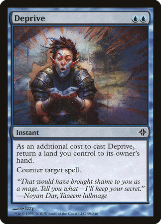 Deprive [Rise of the Eldrazi] | Jack's on Queen