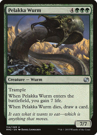 Pelakka Wurm [Modern Masters 2015] | Jack's on Queen
