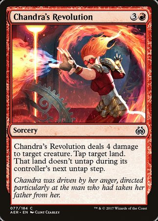 Chandra's Revolution [Aether Revolt] | Jack's on Queen