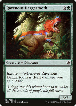 Ravenous Daggertooth [Ixalan] | Jack's on Queen