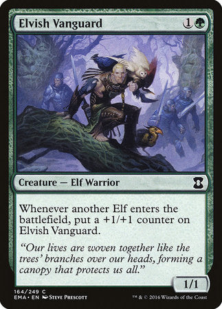 Elvish Vanguard [Eternal Masters] | Jack's on Queen
