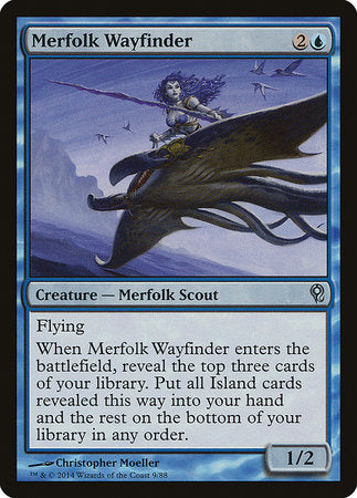 Merfolk Wayfinder [Duel Decks: Jace vs. Vraska] | Jack's on Queen