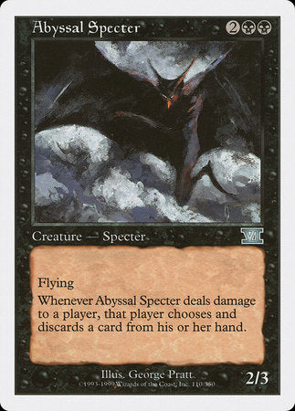 Abyssal Specter [Classic Sixth Edition] | Jack's on Queen