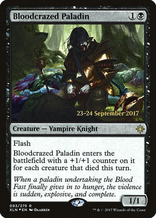 Bloodcrazed Paladin [Ixalan Promos] | Jack's on Queen