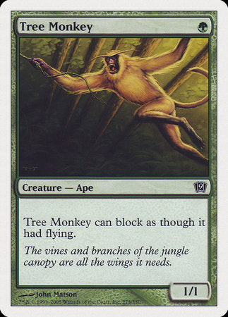 Tree Monkey [Ninth Edition] | Jack's on Queen