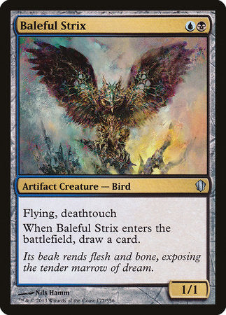Baleful Strix [Commander 2013] | Jack's on Queen