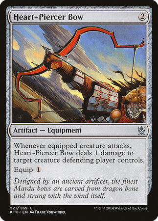 Heart-Piercer Bow [Khans of Tarkir] | Jack's on Queen