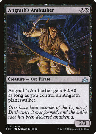 Angrath's Ambusher [Rivals of Ixalan] | Jack's on Queen