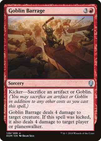 Goblin Barrage [Dominaria] | Jack's on Queen