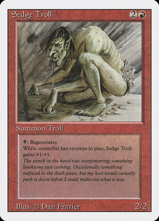 Sedge Troll [Revised Edition] | Jack's on Queen
