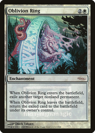 Oblivion Ring [Friday Night Magic 2009] | Jack's on Queen