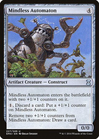 Mindless Automaton [Eternal Masters] | Jack's on Queen
