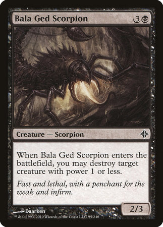 Bala Ged Scorpion [Rise of the Eldrazi] | Jack's on Queen