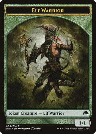 Elf Warrior Token [Magic Origins Tokens] | Jack's on Queen