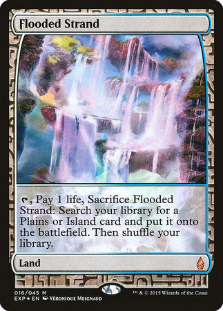 Flooded Strand [Zendikar Expeditions] | Jack's on Queen
