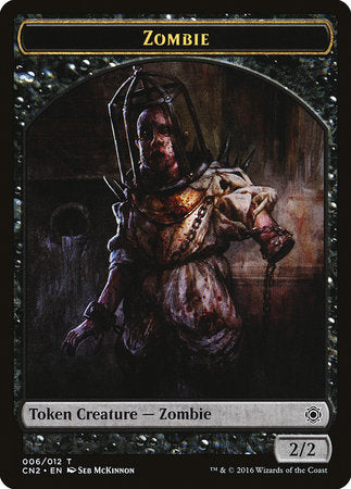 Zombie Token [Conspiracy: Take the Crown Tokens] | Jack's on Queen