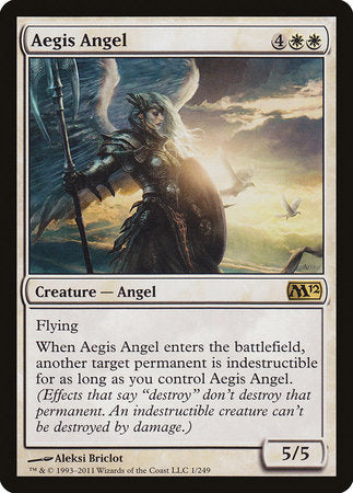 Aegis Angel [Magic 2012] | Jack's on Queen