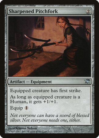 Sharpened Pitchfork [Innistrad] | Jack's on Queen