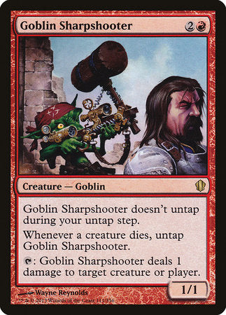 Goblin Sharpshooter [Commander 2013] | Jack's on Queen