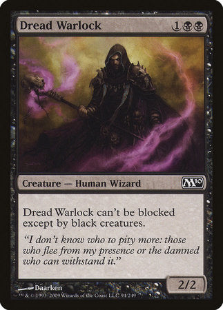 Dread Warlock [Magic 2010] | Jack's on Queen