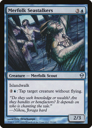 Merfolk Seastalkers [Zendikar] | Jack's on Queen