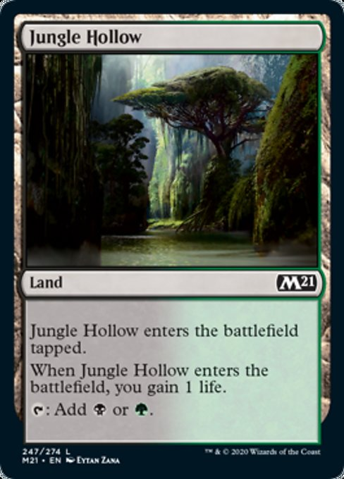 Jungle Hollow [Core Set 2021] | Jack's on Queen
