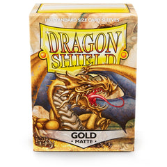 Dragon Shield Standard Matte Gold 'Gygex' – (100ct) | Jack's on Queen