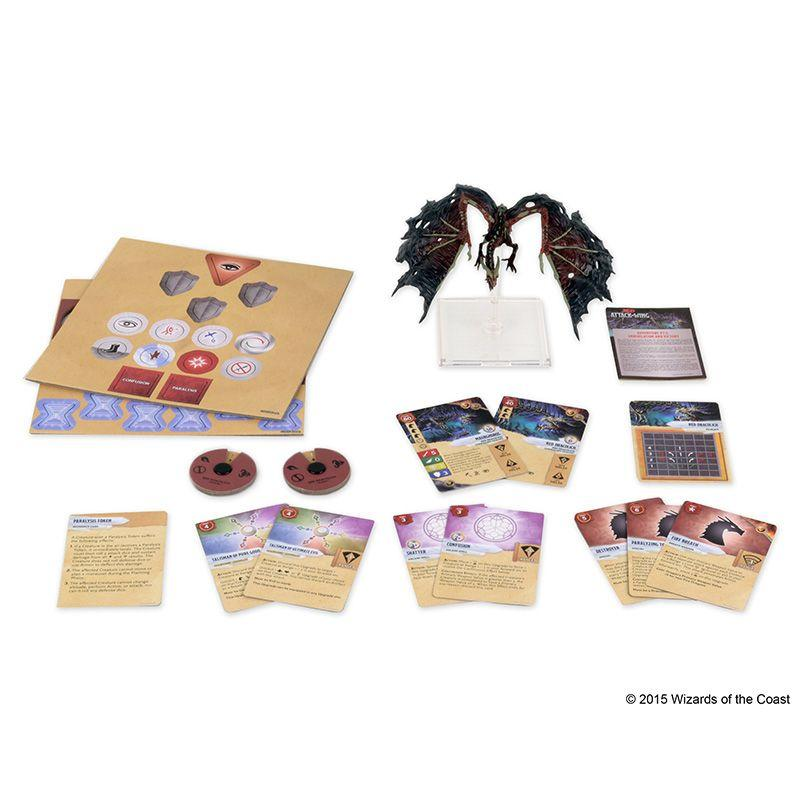 Dungeons & Dragons - Attack Wing Wave 5 Red Dracolich | Jack's on Queen