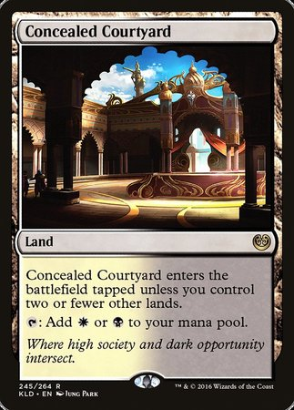 Concealed Courtyard [Kaladesh] | Jack's on Queen