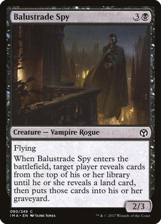 Balustrade Spy [Iconic Masters] | Jack's on Queen