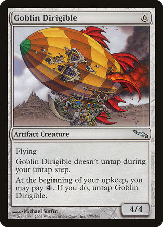 Goblin Dirigible [Mirrodin] | Jack's on Queen