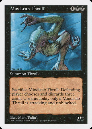 Mindstab Thrull [Fifth Edition] | Jack's on Queen