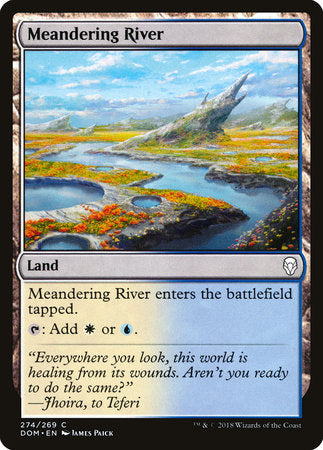 Meandering River [Dominaria] | Jack's on Queen