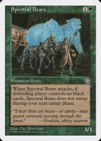 Spectral Bears [Anthologies] | Jack's on Queen