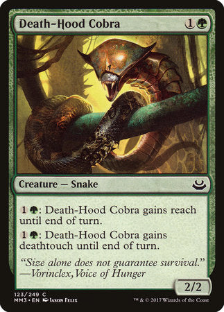 Death-Hood Cobra [Modern Masters 2017] | Jack's on Queen