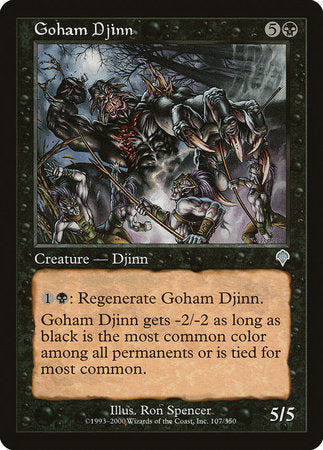 Goham Djinn [Invasion] | Jack's on Queen