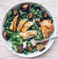 Chicken Salad with CBD Infused Lemon Dressing