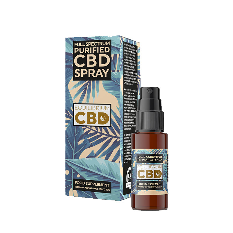 Equilibrium CBD Purified Range 1000mg CBD Oil 10ml
