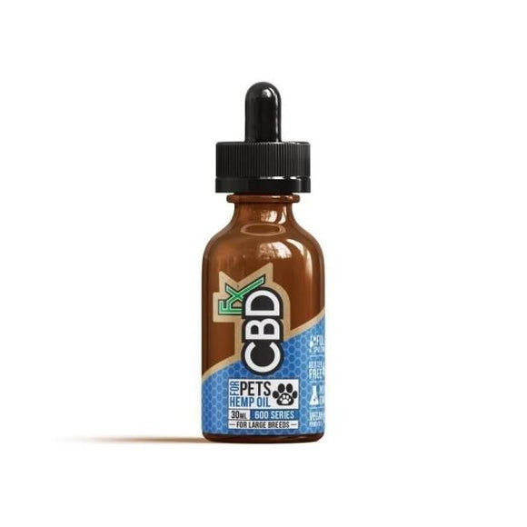 CBDfx 600mg Pet CBD Oil  (Large Breed)